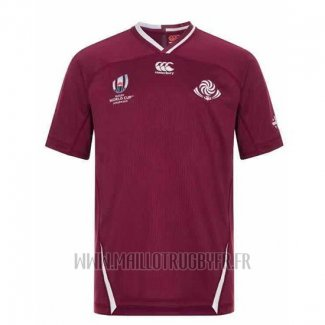 Maillot Georgie Rugby RWC 2019 Marron