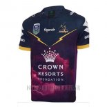 Maillot Melbourne Storm 9s Rugby 2017 Domicile