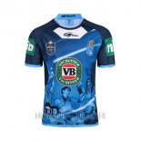 Maillot NSW Blues Rugby 2017 Domicile