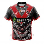 Maillot St George Illawarra Dragons Rugby 2019 Indigene