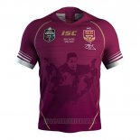 Maillot Queensland Maroons 1 Rugby 2019 Commemorative