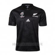 Maillot All Black Nouvelle-Zelande Rugby RWC 2019 Domicile