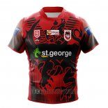 Maillot St George Illawarra Dragons 9s Rugby 2020-2021 Heroe