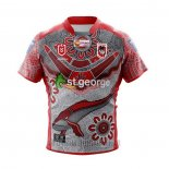 Maillot St George Illawarra Dragons Rugby 2021 Indigene