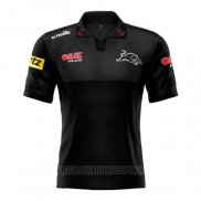 Maillot Polo Penrith Panthers Rugby 2021 Noir