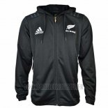 Nouvelle-Zelande All Blacks Rugby 2018-19 Veste a Capuche01