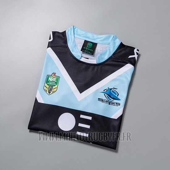 Maillot Sharks Rugby 2018-19 Exterieur