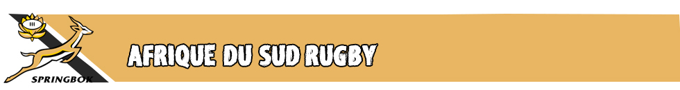 Afrique du Sud Rugby 2019