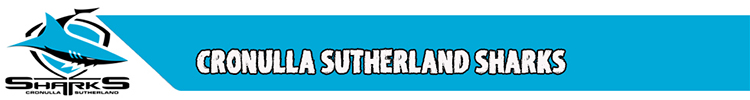 Cronulla Sutherland Sharks Rugby- maillotrugbyfr