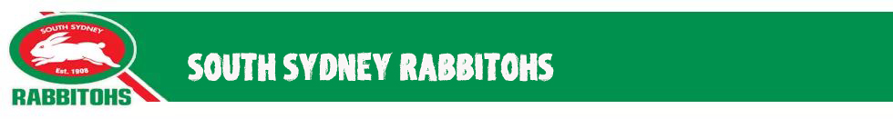 South Sydney Rabbitohs Rugby- maillotrugbyfr